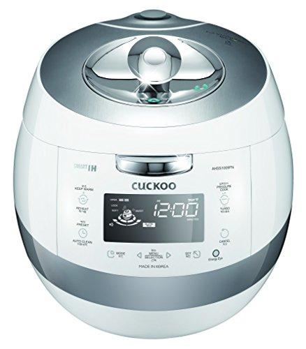 Cuckoo CRP-AHSS1009FN 10 Cups IH Pressure Rice Cooker 110v, White