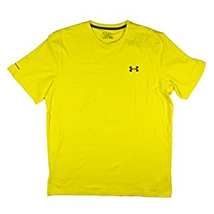 Under Armour Charged Cotton Short Sleeve - Mens (Yellow (735), Medium)