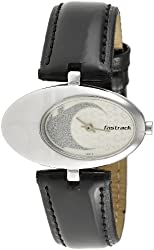 Fastrack Hip Hop Analog Silver Dial Womens Watch - NC6024SL01