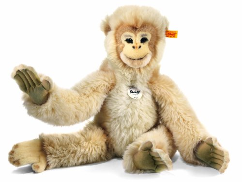 Steiff 45cm Hoppy Dangling Monkey (Cream)