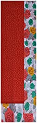 Princess Women's Cotton Unstitched Dress Material (Red)