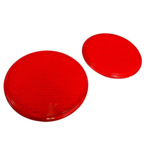 "RVTravelMats 3"" Round Red Reflectors (2 Pack) at Sears.com"