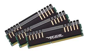 Patriot Viper Xtreme Series DDR3 6 GB (3 x 2 GB) PC3-16000 2000MHz 9-11-9-27 for Intel Core i7 PX736G2000ELK