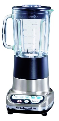 Kitchenaid 10 Speed Combinations Ultra Power Blender 5Ksb5 (220Volt Will Not Work In The Usa) (Nickel) front-528917