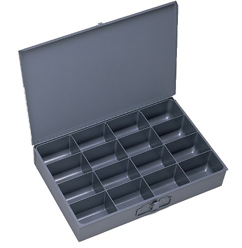 Durham 209-95-IND Gray Cold Rolled Steel Individual Small Scoop Box, 13-3/8