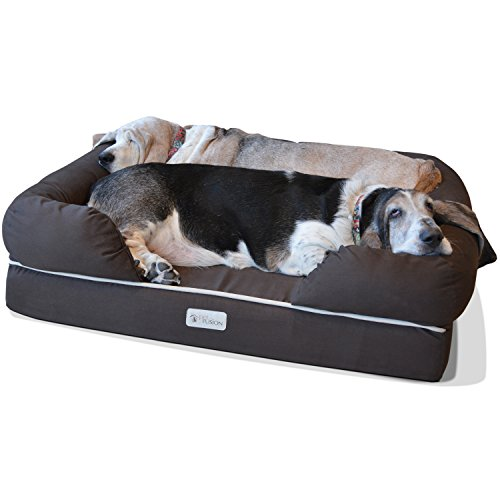 PetFusion-Ultimate-Dog-Bed-Lounge-Grey