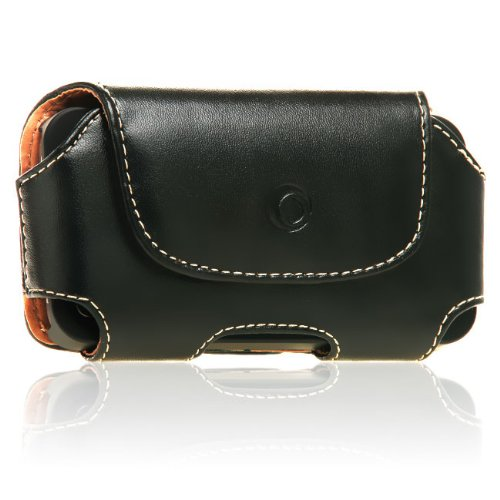 splash Mohawk II Horizontal Leather Case with Belt Clip for iPhone 4 4G 4S 3G 3GS (for use with Shell Case)