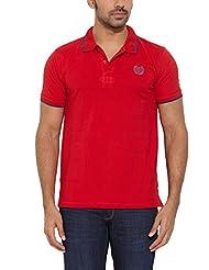 Indigo Nation Men's Banded Collar Cotton T-Shirt - B00NMBCFH0