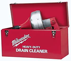 Milwaukee Electric Drain Clearing Snake With 25 Foot Steel