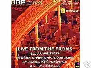 Live From The Proms / Elgar: Falstaff /  Dvorak: Symphonic Variations