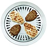 USA Wholesaler - KTGRSS - Chefmaster™ T304 Stainless Steel Smokeless Indoor Stovetop Barbeque Grill