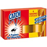 Catch - 6043 - Papier Tue-Mouches x 4