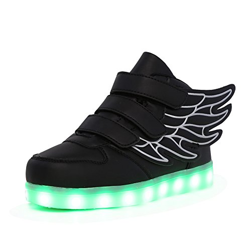 CIOR-Kids-Boy-and-Girls-7-Color-Wings-Led-Sneakers-Light-Up-Flashing-Shoes