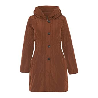 David Barry - Women`s winter Hooded Padded Winter Coat at