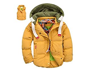Amazon.com: Toddler Winter Coats for Boys Yellow Down Vest