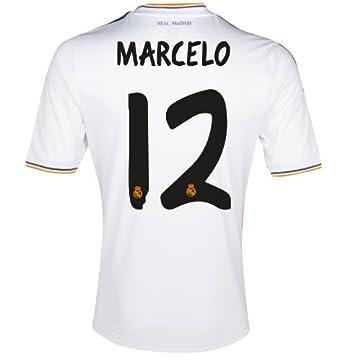 Amazon.com: Adidas MARCELO #12 Real Madrid Home Jersey 2013-14 (2XL