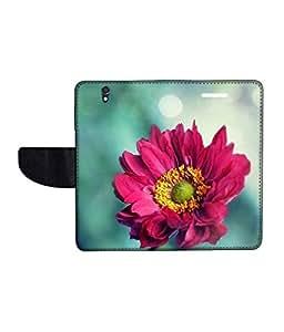 KolorEdge Printed Flip Cover For Sony Xperia Z Multicolor - (50KeMLogo10812XperiaZ)