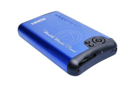 PEEKTON - MINIPEEK 259 - BOITIER MULTIMÉDIA ALUMINIUM 2,5  - SATA - HDMI - USB - 250 GO - BLEU