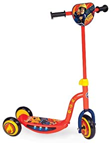 Fireman Sam Rescue Light and Sound Tri Scooter