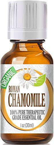 Chamomile Essential Oil, Roman (Organic) 100% Pure, Best Therapeutic Grade - 30Ml (1Oz)