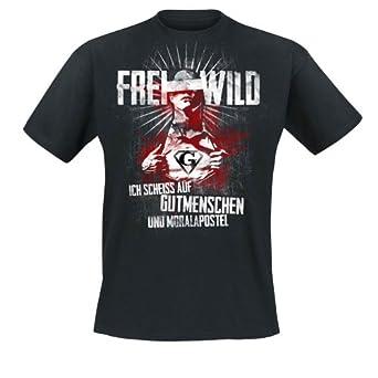 Frei.Wild - Gutmenschen & Moralapostel T-Shirt, schwarz, Grösse M
