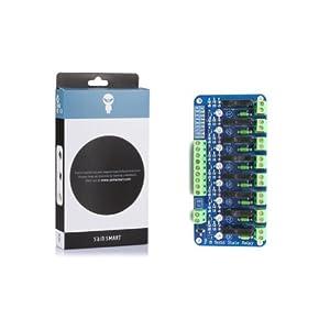 SainSmart 8-Channel 5V Solid State Relay Module Board for Arduino Uno Duemilanove MEGA2560 MEGA1280 ARM DSP PIC