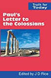 img - for Paul's Letter to the Colossians (Truth for Today) book / textbook / text book