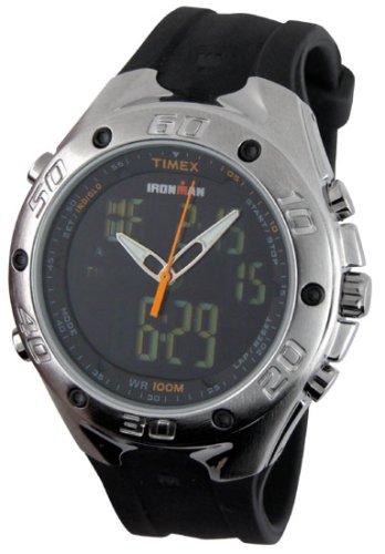 Timex Men's Ironman Triathlon 42 Lap Combo Dual Tech Watch T56381