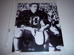 Autographed Bart Starr Photo - Alabama hof Jsa coa 8x10 - Autographed College Photos by Sports+Memorabilia