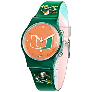 Miami Hurricanes Suntime Team Fusion Watch - NCAA College Athletics by Sun Time/Links Warner