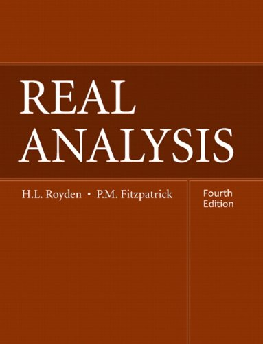 Real Analysis:United States Edition
