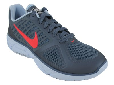 Nike Women's WMNS LUNAR SWEET VICTORY II+ RUNNING SHOES 9.5 (BLUE DUSK/SOLAR RED/BLUR CHAMBRAY)