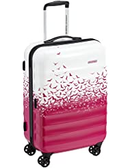 American Tourister Suitcase, 67 cm, 61 Liters, Fly Away Pink