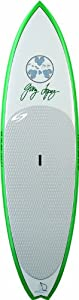 Surftech Lopez Sweetie Pie Surfboards (Grey/Green, 8- Feet 10-Inch)