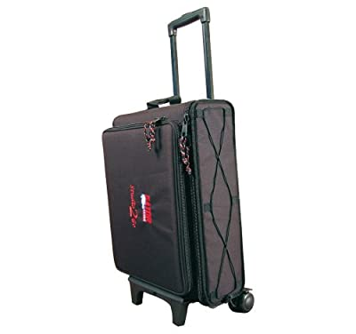 Gator Padded Rack Bag for Laptop Over 2-Space Rack with Removable Handle and Wheels by Gator