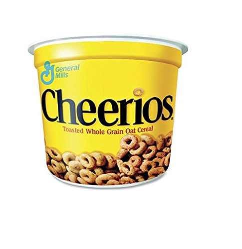 General Mills Cheerios Cereal in a Cup - 2 oz. bowl - 12 ct. - SCS