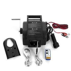 Rotfuchs® EBW01.W 12V Elektrische Seilwinde 2721 KG mit Funkfernbedienung by Rotfuchs®