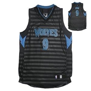 NBA MINNESOTA TIMBERWOLVES RUBIO #9 Youth Athletic Sleeveless Jersey Shirt by NBA