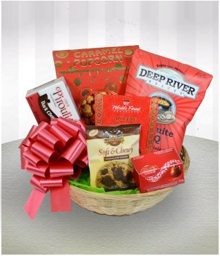 Touch of Christmas- Gift Gourmet Basket
