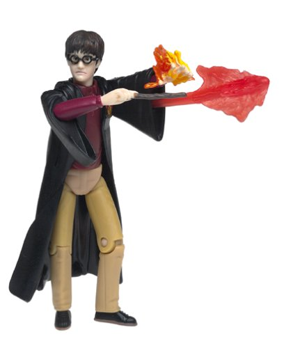 Picture of Mattel Harry Potter Cast a Spell Action Figure (B00006ZCB6) (Harry Potter Action Figures)