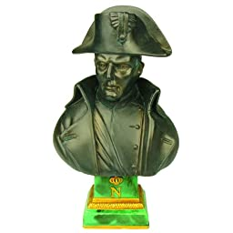 Souvenirs of France - Napoleon\'s Bust Statue by Pinedo - Height : 4.72in - Color : Bronze