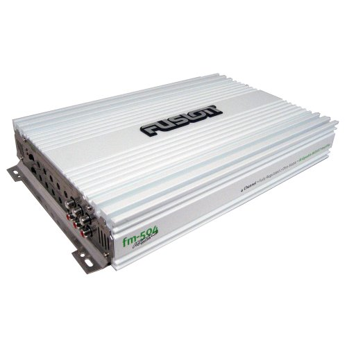 Brand New Fusion 500W, 4 Channel Amplifier