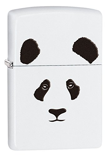 zippo-panda-white-matte-pocket-lighter