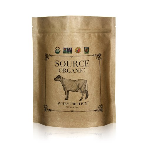 Source Organic Whey Protein - 100% Grass-Fed and Grass-Finished