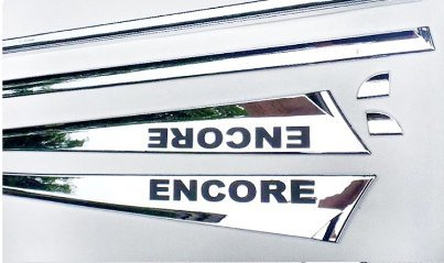 Auto Chrome Body Door Side Molding Trim Stainless Steel 6pcs Fit For 2013 Buick Encore