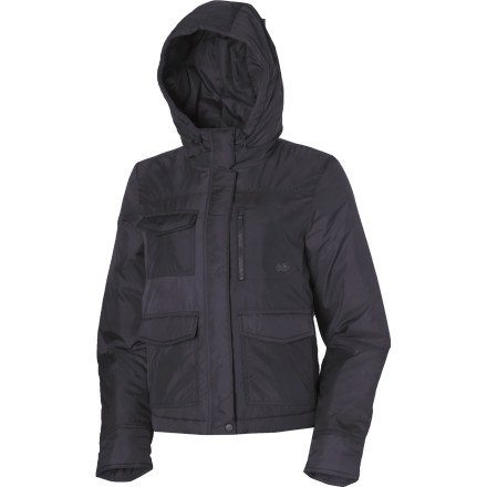 5c3f99fc0421 Slide into the Nike 6.0 Stratton Hoody Puffer Jacket for warmth on a cool  star-gazing night. Pull up the scuba-style hood