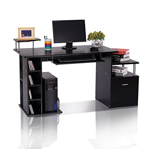 homcom-computer-desk-pc-workstation-with-drawer-shelves-cpu-storage-rack-home-office-furniture-black