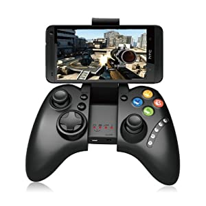 Wireless Bluetooth MultiMedia Joystick Game Controller Classic Joypad Gamepad for Apple IOS iPhone/iPod/iPad/Samsung/HTC/MOTO Cellphone PC