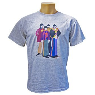 The-Beatles-Yellow-Submarine-Characters-Camiseta-azul-4850