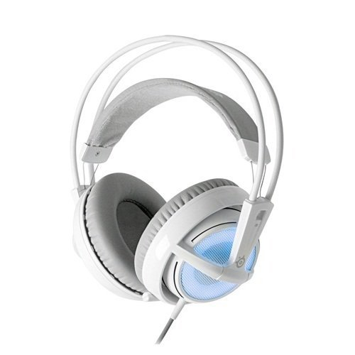 Steelseries Siberia V2 Full-Size Gaming Headset With Built-In Usb Sound Card (Frost Blue) Color: Frost Blue